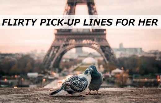 100+ Flirty Pick-Up Lines για αυτήν