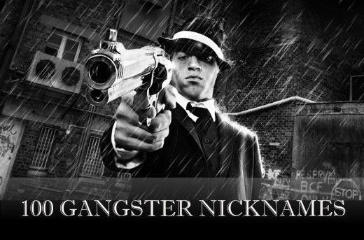 100 vaikinų ir mergaičių gangsterių slapyvardžių